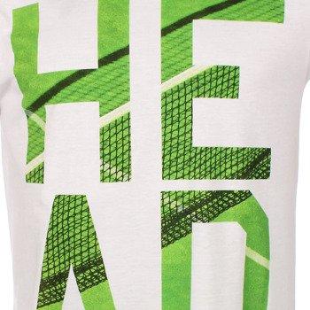 koszulka tenisowa męska HEAD DART T-SHIRT / 811204 WHGE