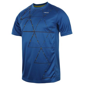 koszulka tenisowa męska HEAD DASH T-SHIRT / 811134 BCNV