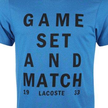 koszulka tenisowa męska LACOSTE T-SHIRT TECHNICAL JERSEY / TH8306 FXH