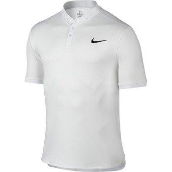 koszulka tenisowa męska NIKE ADVANTAGE POLO SOLID / 729384-100