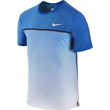 koszulka tenisowa męska NIKE CHALLENGER CREW / 728953-435