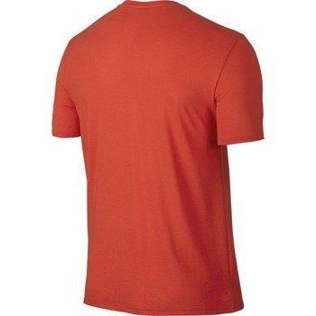 koszulka tenisowa męska NIKE COURT LOGO CREW / 739479-696