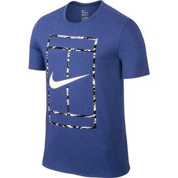 koszulka tenisowa męska NIKE COURT LOGO SHORTSLEEVE CREW TEE / 688464-480