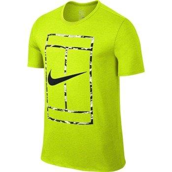 koszulka tenisowa męska NIKE COURT LOGO SHORTSLEEVE CREW TEE / 688464-702