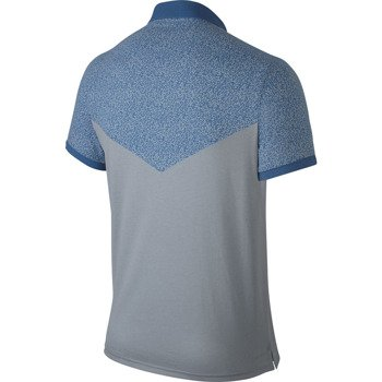 koszulka tenisowa męska NIKE DRI-FIT TOUCH POLO Del Potro US Open 2014