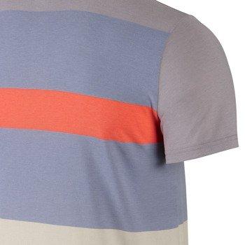 koszulka tenisowa męska NIKE DRI-FIT TOUCH STRIPE POLO / 596566-247