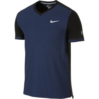 koszulka tenisowa męska NIKE PREMIER RF CREW Roger Federer Londyn 2015 / 685255-410