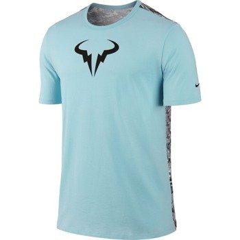 koszulka tenisowa męska NIKE RAFA SHORTSLEEVE CREW TEE / 688582-437