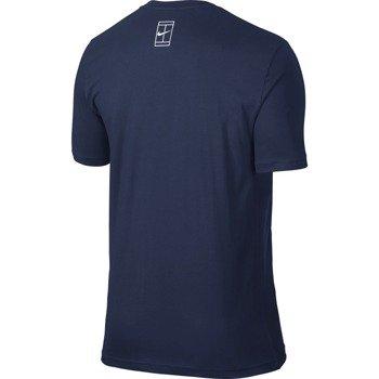 koszulka tenisowa męska NIKE ROGER TEE / 739477-410