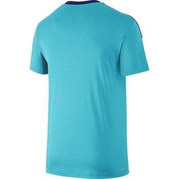 koszulka tenisowa męska NIKE TEAM COURT CREW / 644784-418
