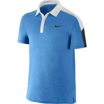 koszulka tenisowa męska NIKE TEAM COURT POLO / 644788-406