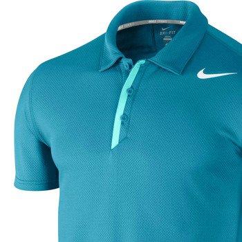 koszulka tenisowa męska NIKE WAFFLE POLO / 522957-418