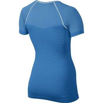 koszulka termoaktywna damska NIKE PRO HYPERCOOL LIMITLESS SHORT SLEEVE TOP / 725647-435