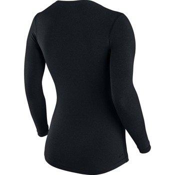 koszulka termoaktywna damska NIKE PRO LONGSLEEVE V-NECK / 589368-010