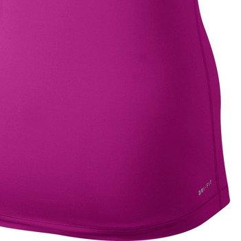 koszulka termoaktywna damska NIKE PRO SHORTSLEEVE V-NECK / 589370-513