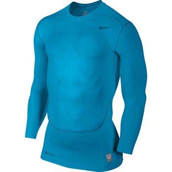 koszulka termoaktywna męska NIKE PRO COMBAT CORE COMPRESSION LONGSLEEVE TOP / 449794-415