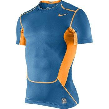 koszulka termoaktywna męska NIKE PRO COMBAT HYPERCOOL COMP SHORTSLEEVE TOP 2.0 / 449838-482