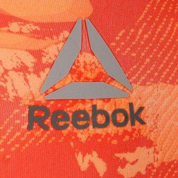 legginsy damskie 3/4 REEBOK WOROUT READY PRINTED CAPRI / AP4301