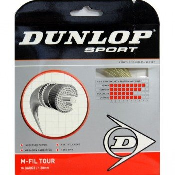 naciąg tenisowy DUNLOP M-FIL TOUR 12M