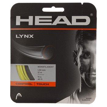 naciąg tenisowy HEAD LYNX 12M yellow / 281784 YW