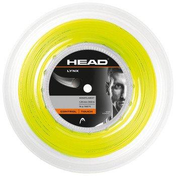 naciąg tenisowy HEAD LYNX (REEL 200M) YELLOW / 281794 YW