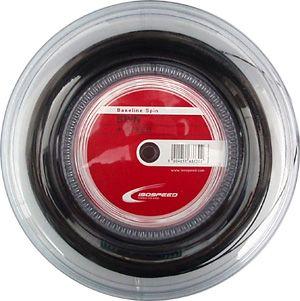naciąg tenisowy ISO-SPEED BASELINE SPIN 200M black