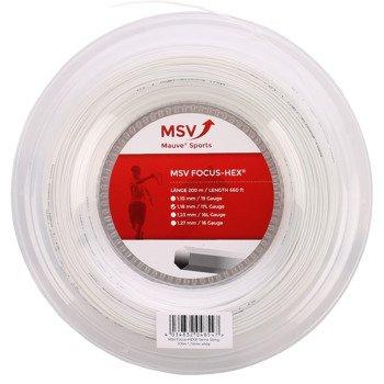 naciąg tenisowy MSV FOCUS HEX 200M WHITE