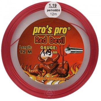 naciąg tenisowy PRO'S PRO RED DEVIL 12M