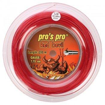 naciąg tenisowy PRO'S PRO RED DEVIL 200m