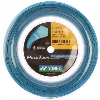 naciąg tenisowy YONEX POLY TOUR SPIN BLUE 200M / PTGSPN-2