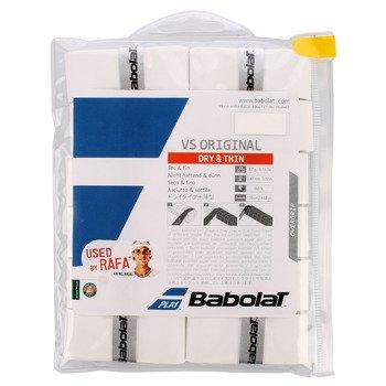 owijki tenisowe BABOLAT VS GRIP białe x12