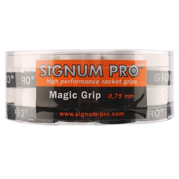 owijki tenisowe SIGNUM PRO MAGIC GRIP X30 WH / TOS-0006