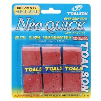 owijki tenisowe TOALSON NEO QUICK RED X3