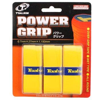 owijki tenisowe TOALSON POWER GRIP x 3 / TG093G
