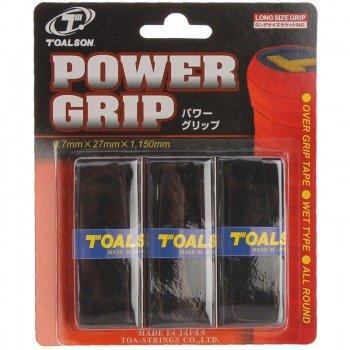 owijki tenisowe TOALSON POWER GRIP x 3 black