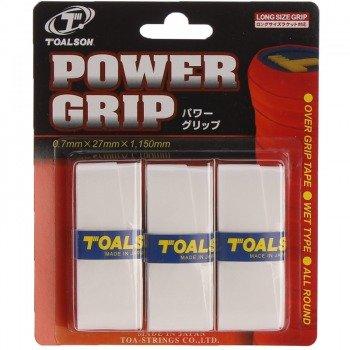 owijki tenisowe TOALSON POWER GRIP x 3 white