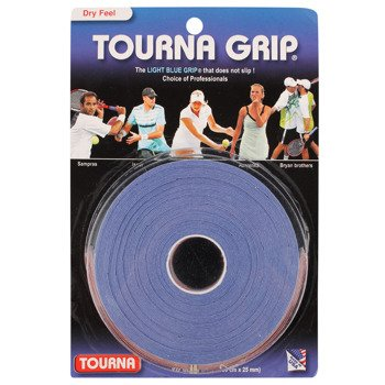 owijki tenisowe TOURNA GRIP BLUE X10 (99X25MM) / TG-10