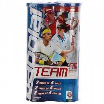 piłki tenisowe BABOLAT TEAM 2PCK