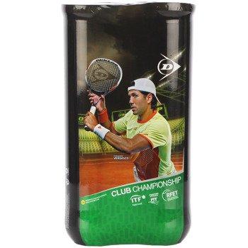 piłki tenisowe DUNLOP CLUB CHAMPIONSHIP 2x4szt.