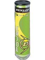 piłki tenisowe DUNLOP POWER  4szt.