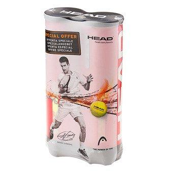 piłki tenisowe HEAD CHAMPIONSHIP NOVAK 2X4B / 575141