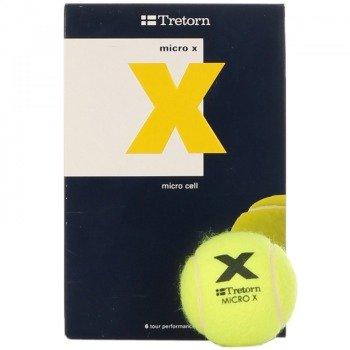 piłki tenisowe TRETORN MICRO X 6 szt