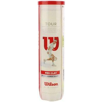 piłki tenisowe WILSON TOUR RED CLAY - 4szt. / WRT110800