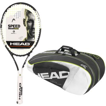rakieta tenisowa HEAD GRAPHENE XT SPEED S + torba tenisowa HEAD NOVAK DJOKOVIC SUPERCOMBI