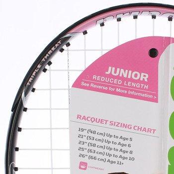 rakieta tenisowa juniorska PRINCE PINK 23
