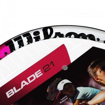 rakieta tenisowa juniorska WILSON BLADE 21 PINK / 501500