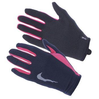 rękawiczki i czapka do biegania damskie NIKE RUN DRI-FIT BEANIE/GLOVE SET / NRC01-067