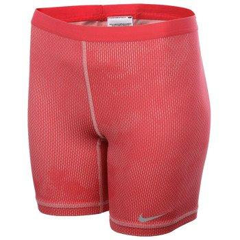 spodenki tenisowe damskie NIKE SLAM PRINTED SHORT / 598348-685
