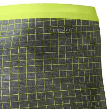 spodenki tenisowe damskie NIKE SLAM PRINTED SHORT / 646200-702