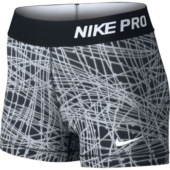 "spodenki termoaktywne damskie NIKE PRO COOL 3"" SHORT TRACER / 725455-010"